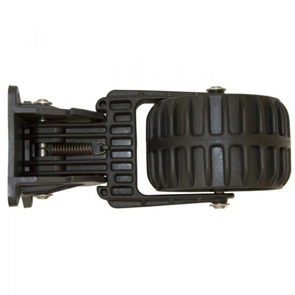колеса транцевые kolibri пластиковые черные 13.016.62