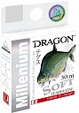 Леска Dragon MILLENIUM SOFT 30 м 0.12 мм 2.25 кг