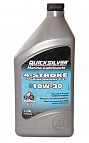Моторное масло Quicksilver 4-STROKE MARINE ENGINE OIL 10W-30 1 л